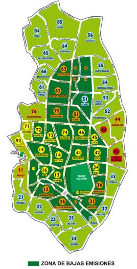 Aparcar en la calle en el centro será más caro desde julio para reducir la contaminación