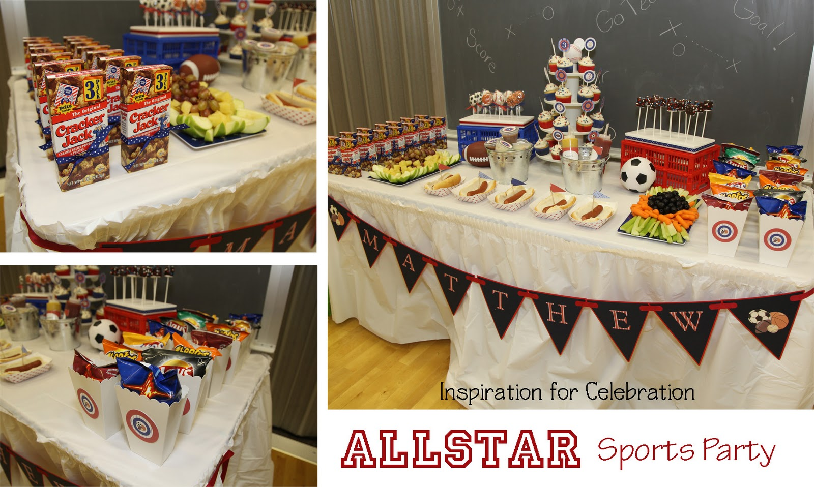 Sports Birthday Party Decoration Ideas