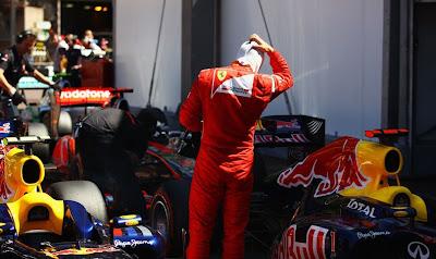 реакция Фернандо Алонсо после квалификации на Гран-при Монако 2011