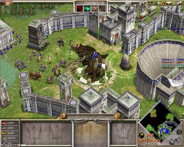Вы можете без регистрации скачать все патчи для игры Age of Mythology The T