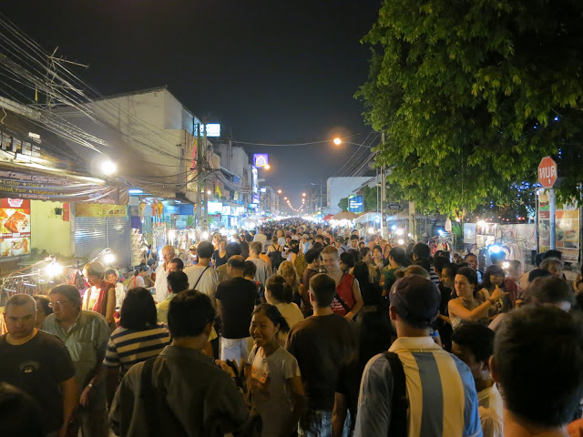The Chiang Mai Sunday Night Market.