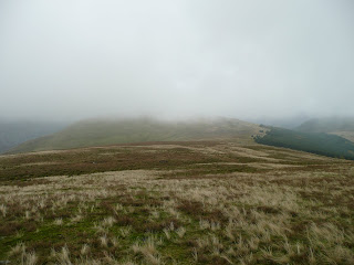 Crag Fell in cloud