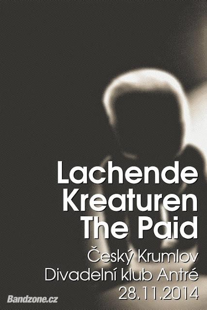 ThE Paid + Lachende Kreaturen = po sto letech - Cesky Krumlov 2014