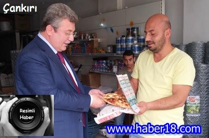 Çankırı Milletvekili Emin Akbaşoğlu, Vatandaşları Ziyaret Ederek,