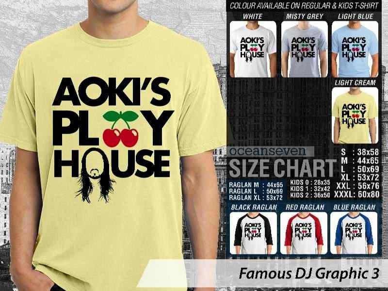 KAOS Musik DJ 3 Aokis Play House distro ocean seven