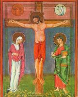 crocefissione bizantina-ortodossa dipinto