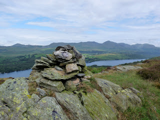 The cairn at the summit of High Light Haw