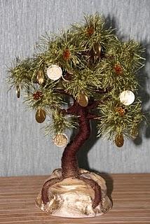 Сделать денежное дерево своими руками из монет