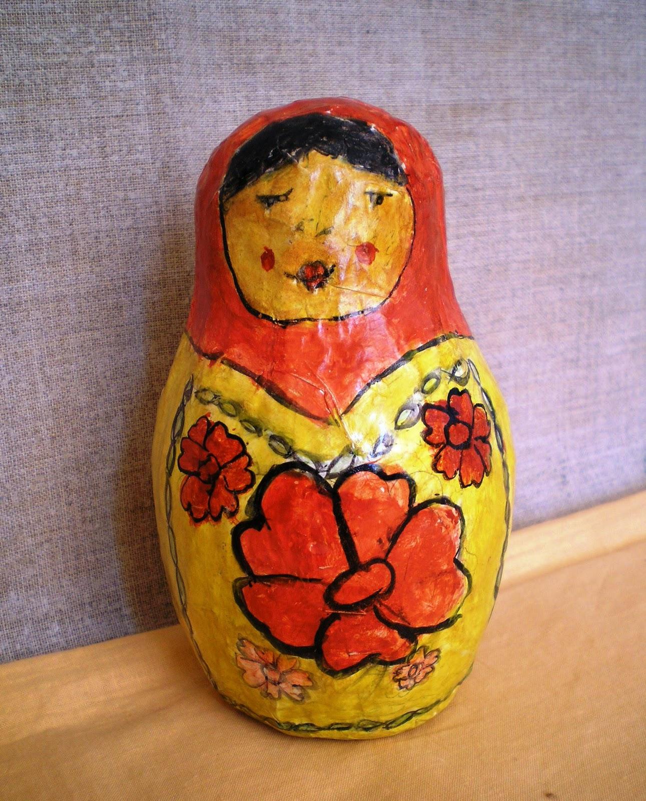 Сувениры из папье-маше своими руками фото