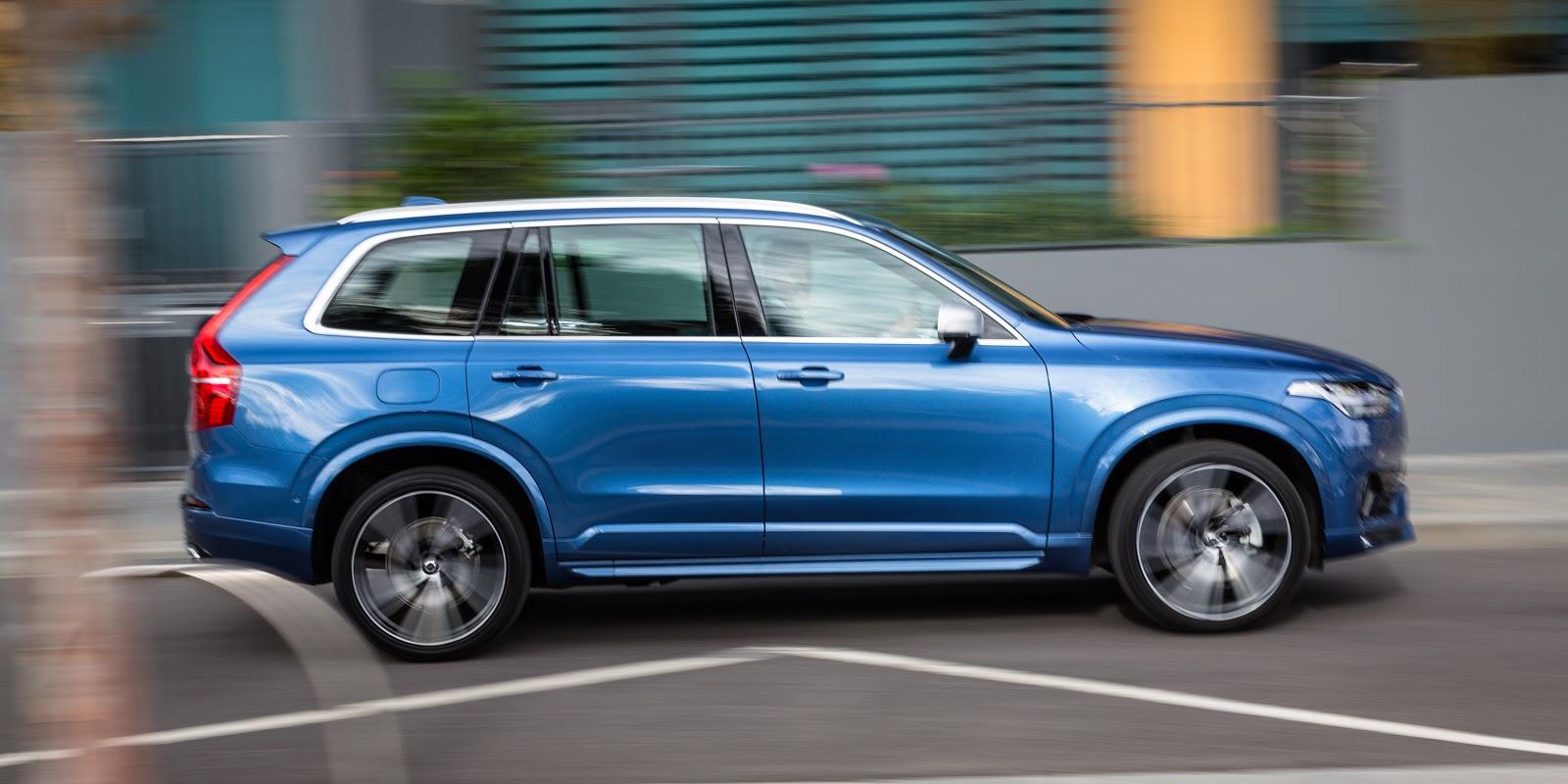 Volvo XC90 2016 là một chiếc SUV lịch lãm và vô cùng an toàn