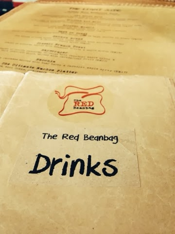 the red beanbag menu