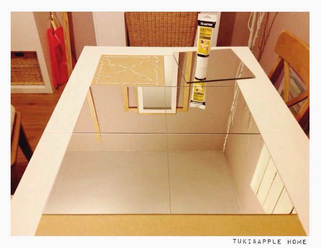 tuki apple home diy espejo ventana low cost