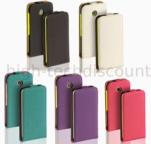 housse etui coque pochette pu cuir pour nokia lumia 630 635 ecran ebay