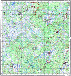 Map 100k--m35-019--(1981)