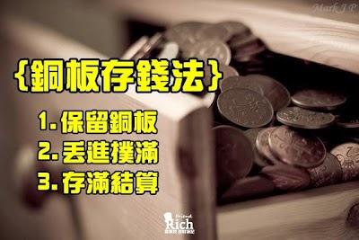 銅板存錢法,無感就能存到錢!