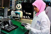 RIM factory in Malaysia