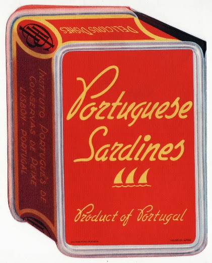 Portugese Sardine Die-cut Recipe Book