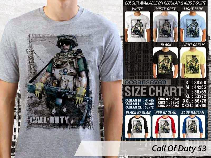 KAOS cod Call Of Duty 53 Game Series distro ocean seven