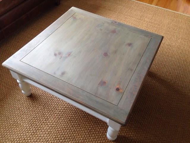 Wild Sparrow Designs Farmhouse Gray Driftwood Coffee Table