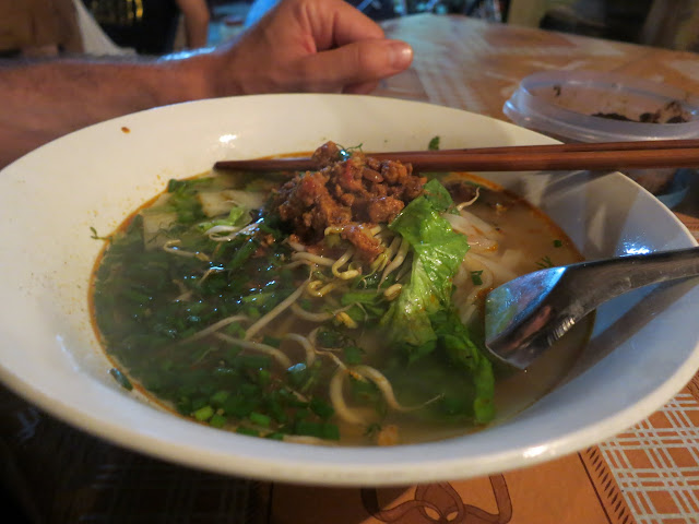 Luang Prabang Khao Soi (with pork) - much different than its Chiang Mai cousin.