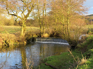 Waterfall on the River Henmore
