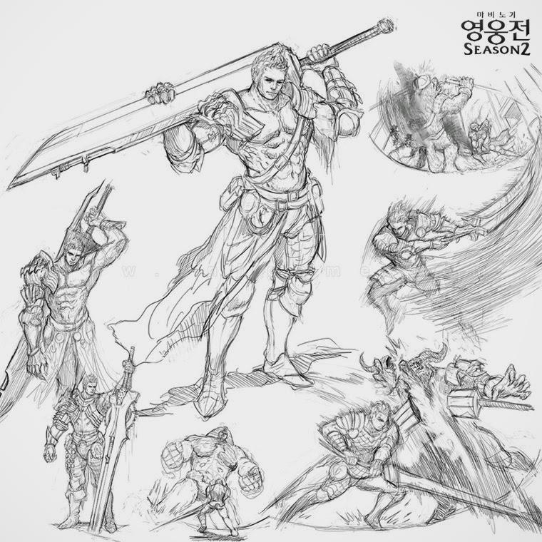 Thiết kế của nhân vật Hurk trong Mabinogi Heroes - Ảnh 1