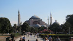 The Hagia Sophia, one of the things I was most looking forward to