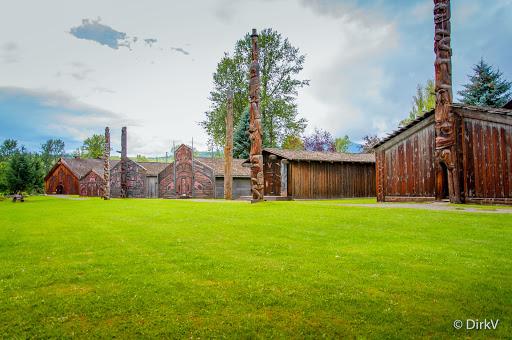 Ksan Historical Village and Museum, 1500 High Level, Hazelton, BC V0J 1Y0, Canada, Museum, state British Columbia