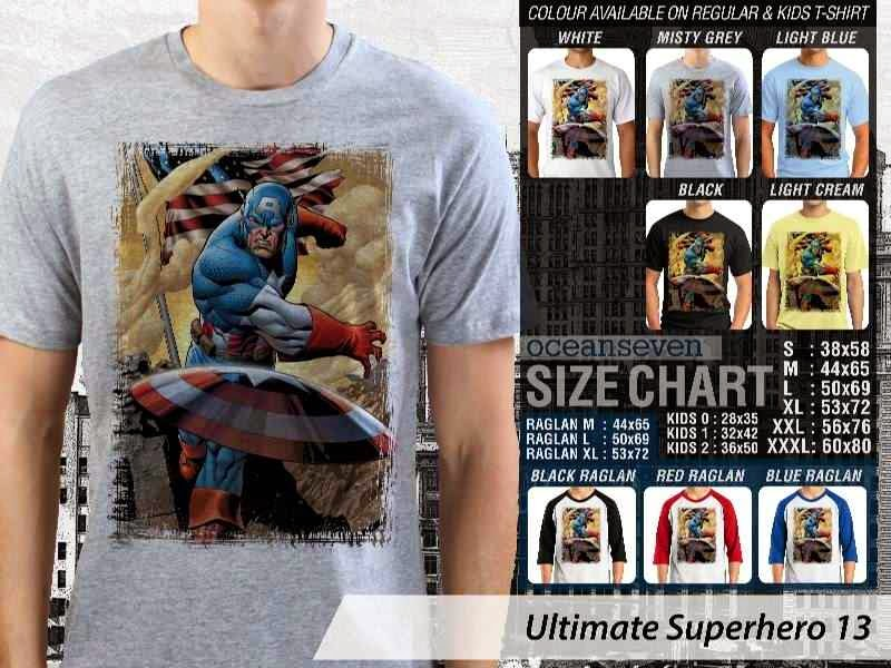 KAOS captain america 13 Ultimate Superhero distro ocean seven