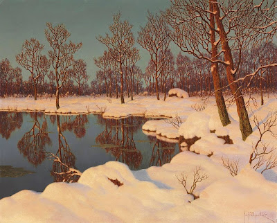 Ivan Fedorovich Choultse - Winter sunset