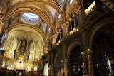 The Basilica Interior - Montserrat, Spain