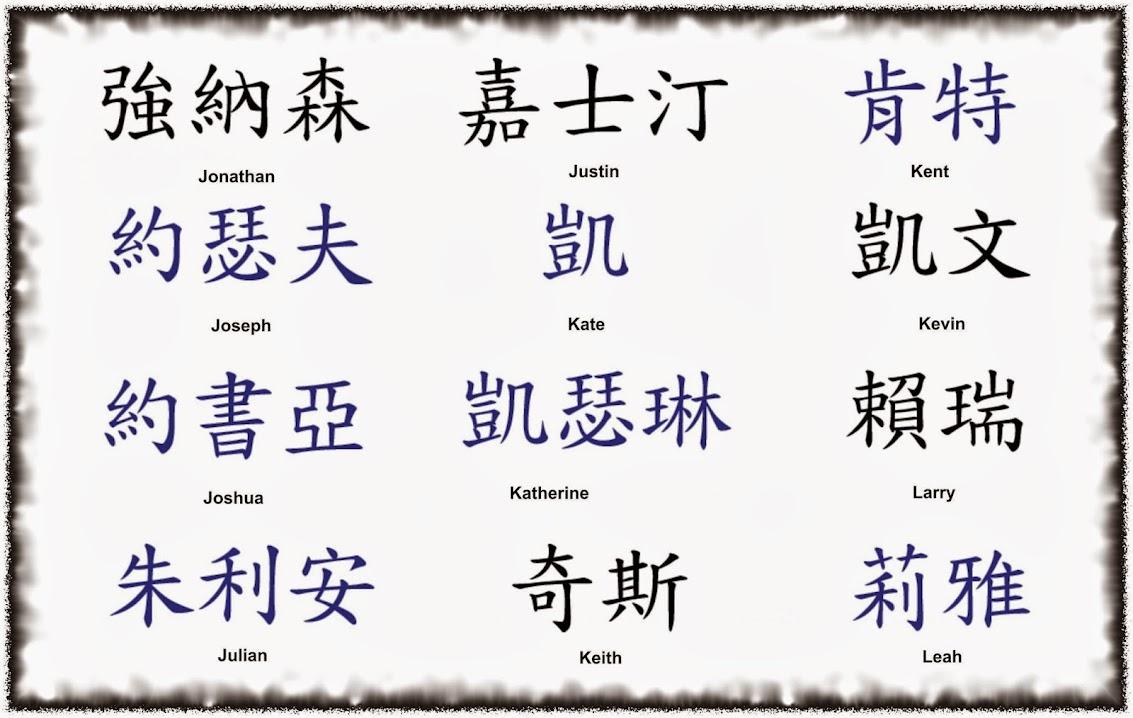 Японские иероглифы тату в именах имена