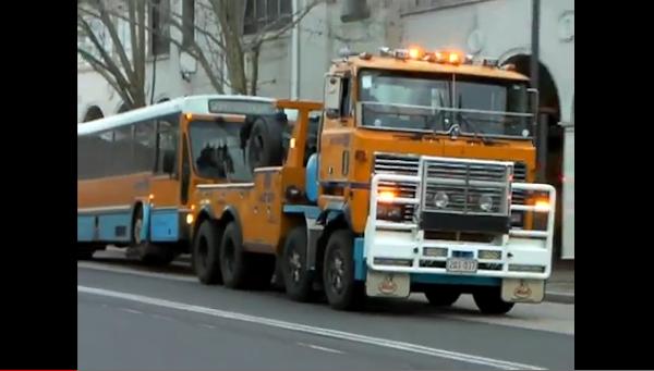 bus tow