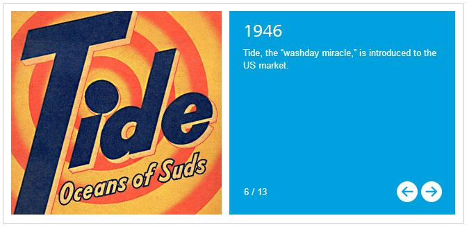 "Tide ""Birth of an Icon"""