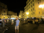 If we hadn't eaten in Trastevere, I bet it would have been lovely in Campo di Fiore