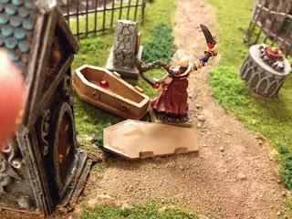 Sister Anne takes Vampire-staking duties