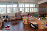 The Montessori preschool room at our Palos Verdes area campus is a beautiful space, with many unique learning activities.