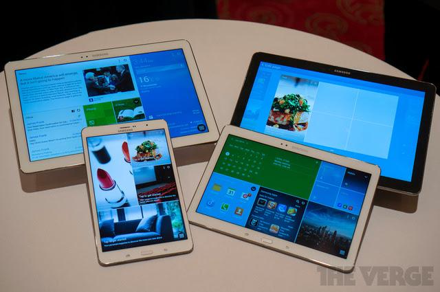 Samsung Pamerkan Galaxy Tab Pro dan Note Pro