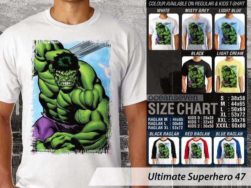 KAOS hulk 47 Ultimate Superhero distro ocean seven