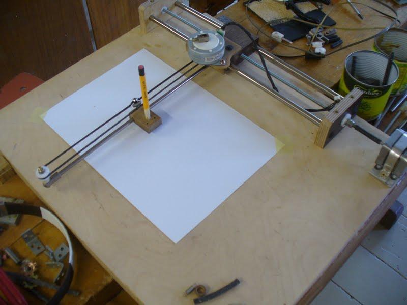 Плоттер для рисования своими руками