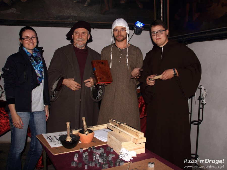 Ruszaj w Drogę  z Gutenbergiem - Jarmark Cysterski w Pelplinie