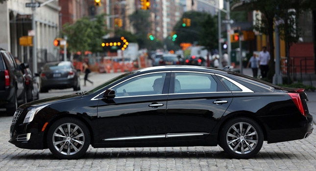 Cadillac wants Town Car Fleet Buyers to Move on to New XTS W20 Livery ...