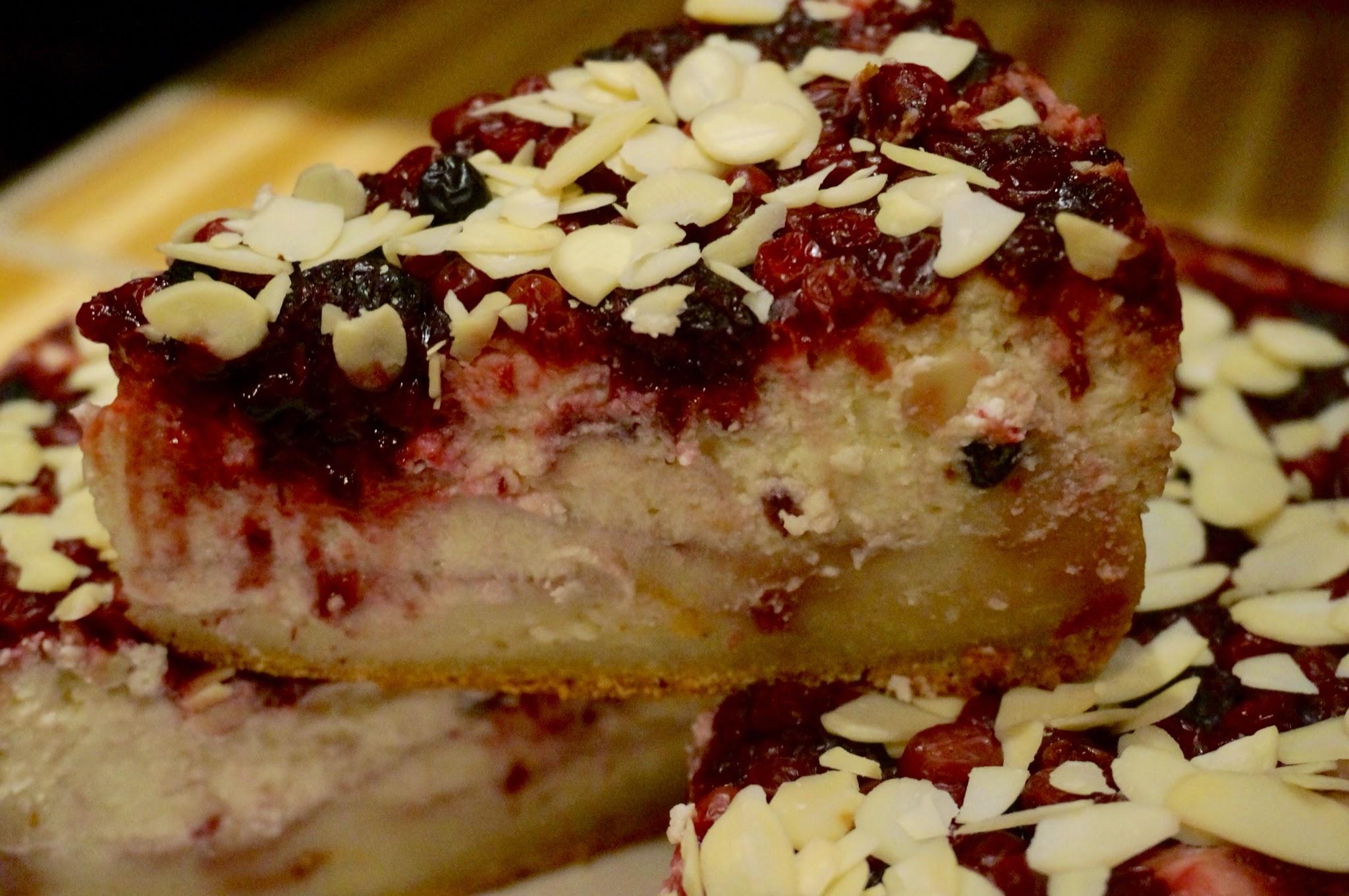 Постный ягодный пирог рецепт