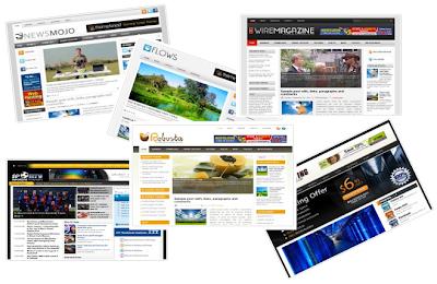 Situs Penyedia Template Blog Gratis