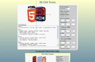 3D CSS Tester