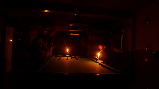 Powercut pool!