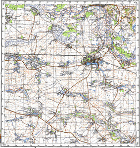 Map 100k--m36-032--(1982)