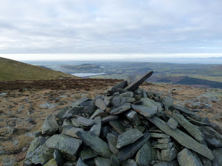We can just see Bassenthwaite from the summit of Bakestall