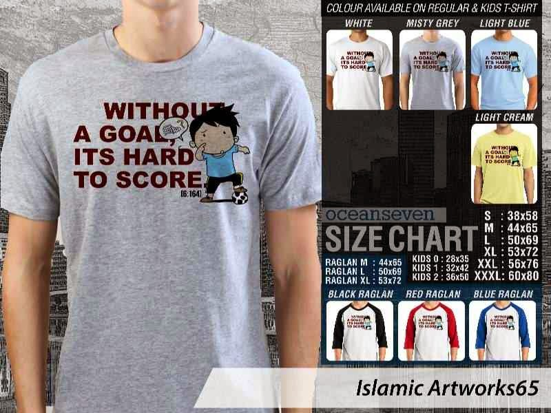 KAOS Muslim Without a goal. its hard to score. Islamic Artworks 65 distro ocean seven