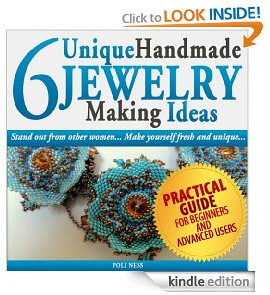 6 Unique Handmade Jewelry Making Ideas book cover